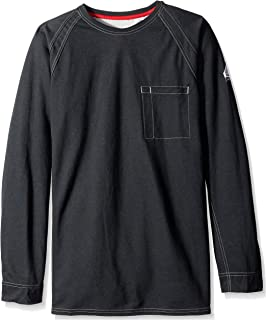 Bulwark Men's Iq Series Comfort Knit Long Sleeve Tee-Big/Tall