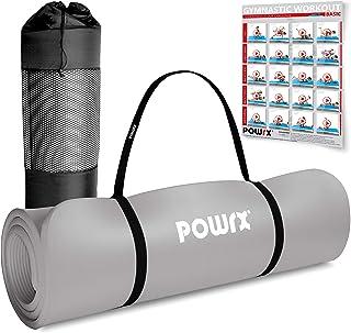 Gymnastikmatta Premium inkl. rem + väska + träningsposter GRATIS I hudvänlig träningsmatta ftalatfri 190 x 60, 80 eller 10...
