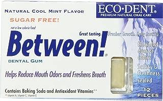 Lotus Brands Between Dental Gum, Mint, 12-Count (Pack of 12)