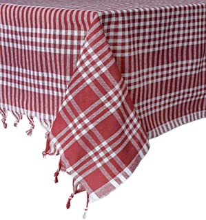Best red gingham rug Reviews