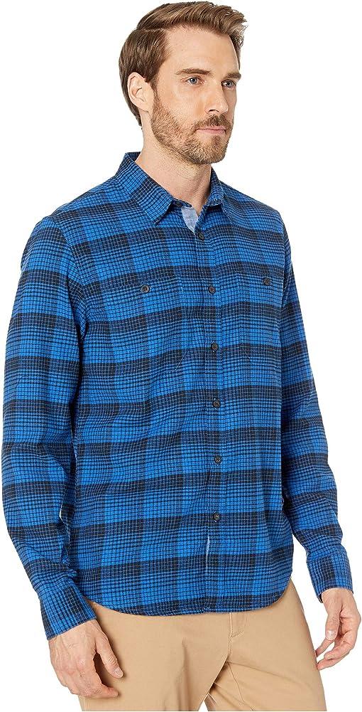 Lapidge Performance Flannel Code Blue Plaid