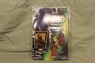 Star Wars, The Power Of The Force Green Card, Jawas Action Figures, 3.75 Inches