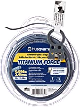 Husqvarna Titanium Force String Trimmer Lines, Orange/Gray