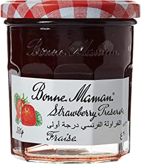 Bonne Maman Strawberry Jam, 370 g (Pack of 1)