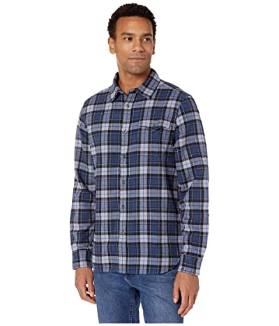 The North Face Long Sleeve Arroyo Flannel Shirt (Blue Wing Teal Ravine Plaid) Men