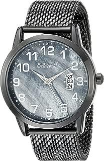 August Steiner Men's Stainless Steel Band Watch