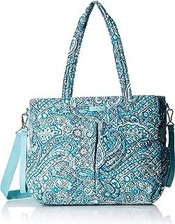 Vera Bradley womens Iconic Ultimate Baby Bag, Signature Cotton, Daisy Dot Paisley, One Size