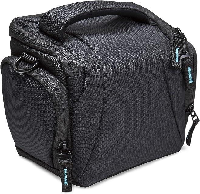 BODYGUARD 5* Estuche Negro - Adecuado para Nikon Coolpix B500 L330 L340 L840 Canon Powershot SX530 SX540 HS