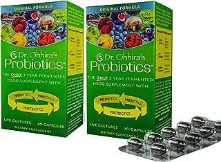 Dr. Ohhira's Probiotics 60 Capsules each, Original Formula - 2 Pack