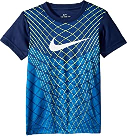 Nike Kids - Flyknit Inspired Dri-Fit Tee (Little Kids)