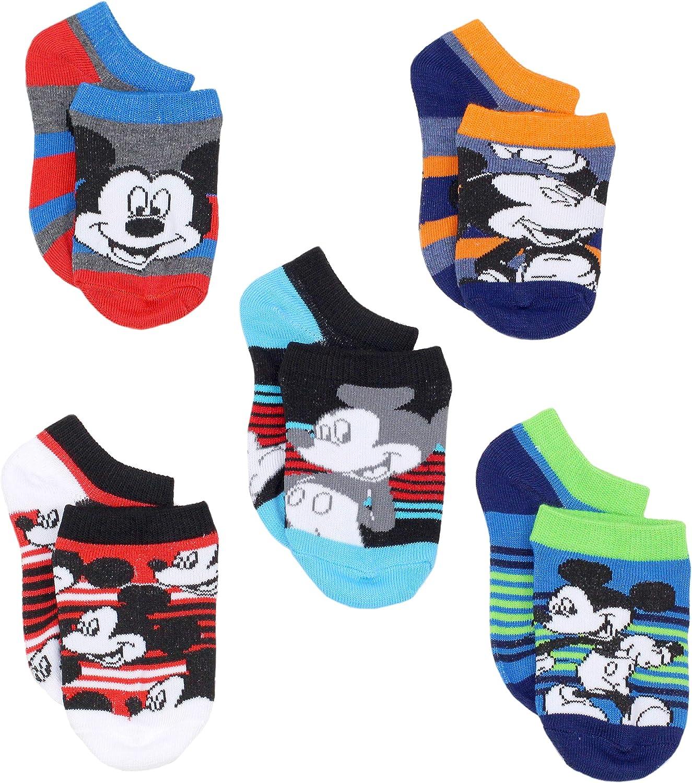 Disney Mickey Mouse Little Boys 5 pack Socks