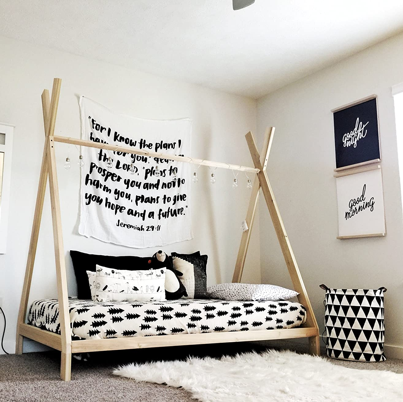 Full Size Teepee Bed Frame