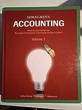 Best horngren's accounting volume 1 Reviews