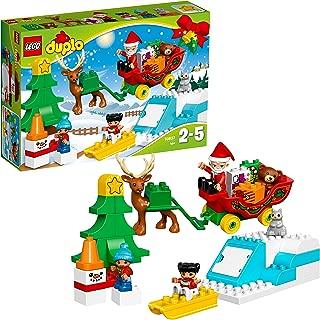 LEGO DUPLO Town Santa's Winter Holiday Building Kit (45 Piece)