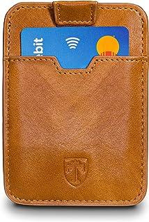 comprar comparacion TRAVANDO ® Tarjetera con Seguridad RFID, PROTECCIÓN hasta 12 Tarjetas (Crédito) - Billetera Fina - Pinza para Billetes - C...
