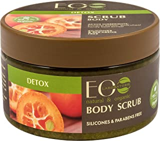 EO Laboratorie natural & organic Sugar Body Scrub Detox With Kumquat Extract, 250 ml