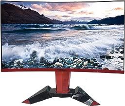 ROCKSOUL RSGM-27M3C QHD 144Hz 27 inch Curved Gaming Monitor 2560x1440 2K Widescreen; Adjustable Stand, 1440P Resolution & FreeSync Samsung VA Panel