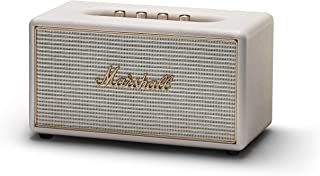 Marshall Stanmore Multi-Room Wi-Fi Speaker, Legendary Design, Mind Blowing Performance, Versatile Wireless Bluetooth Speaker, with Multi-Room Connectivity and Seven Presents, Cream