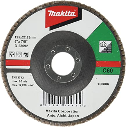 D-27109 Grit Flap Disc 4.92In A80 Makita