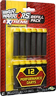 Buzz Bee Toys Air Warriors 12 Extreme Suction Dart Refill