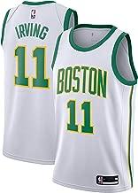 Outerstuff Kyrie Irving Boston Celtics #11 White Gold Youth Alternate Swingman Jersey