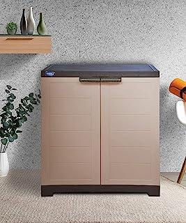 Alfa 1 Plastic Cabinet for Storage | Space Organizer | Shelves | Cupboard | Living Room | Kids | Multipurpose for Home Kit...