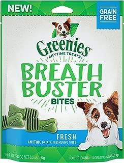 Greenies Breath Buster Fresh Dog Treat