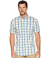 Short Sleeve Comfort Stretch Woven Shirt