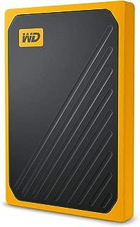 Western Digital My Passport Go 500GB Black w/Amber Trim