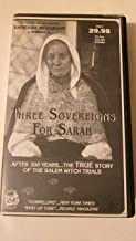 Three Sovereigns for Sarah Vol.1