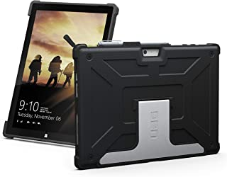 URBAN ARMOR GEAR UAG Microsoft Surface Pro 6/Surface Pro 5th Gen/Surface Pro 4 Feather-Light Rugged [Black] Aluminum Stand Military Drop Tested Case (Renewed)