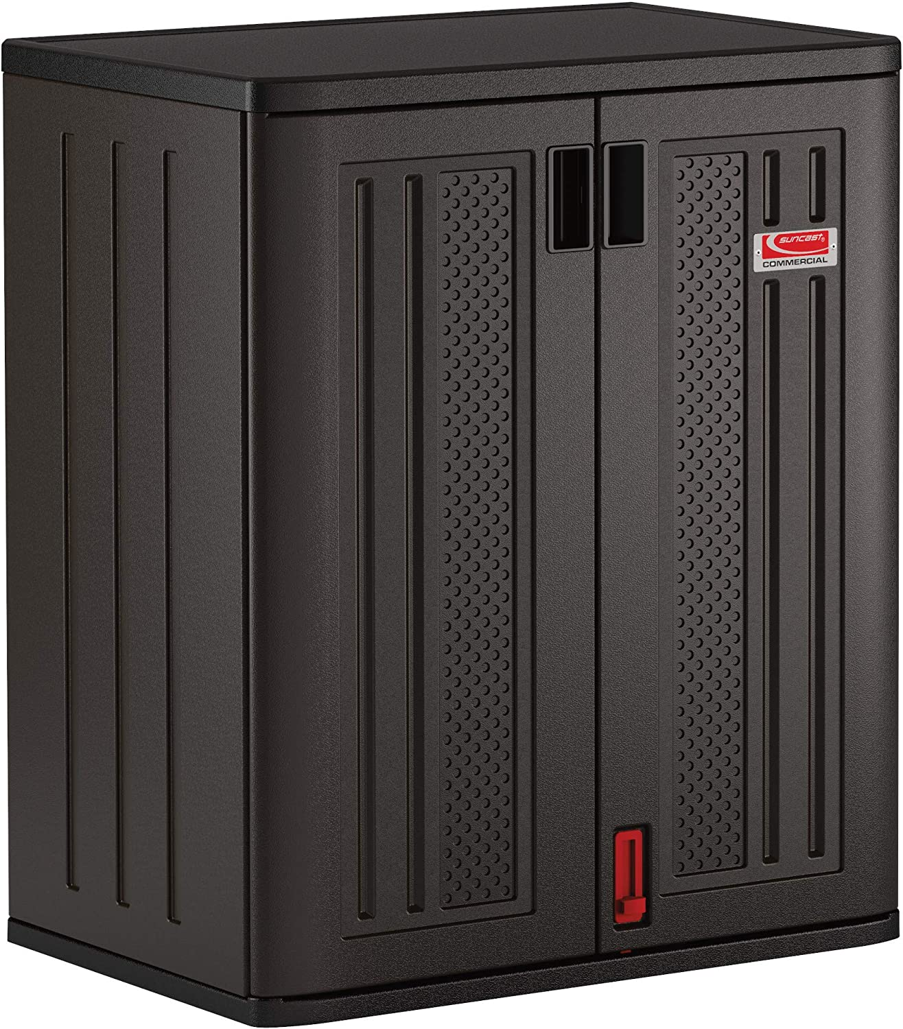 Suncast Be super welcome Commercial Black Blow Molded Max 74% OFF Tall Shed C 2 Storage Shelf