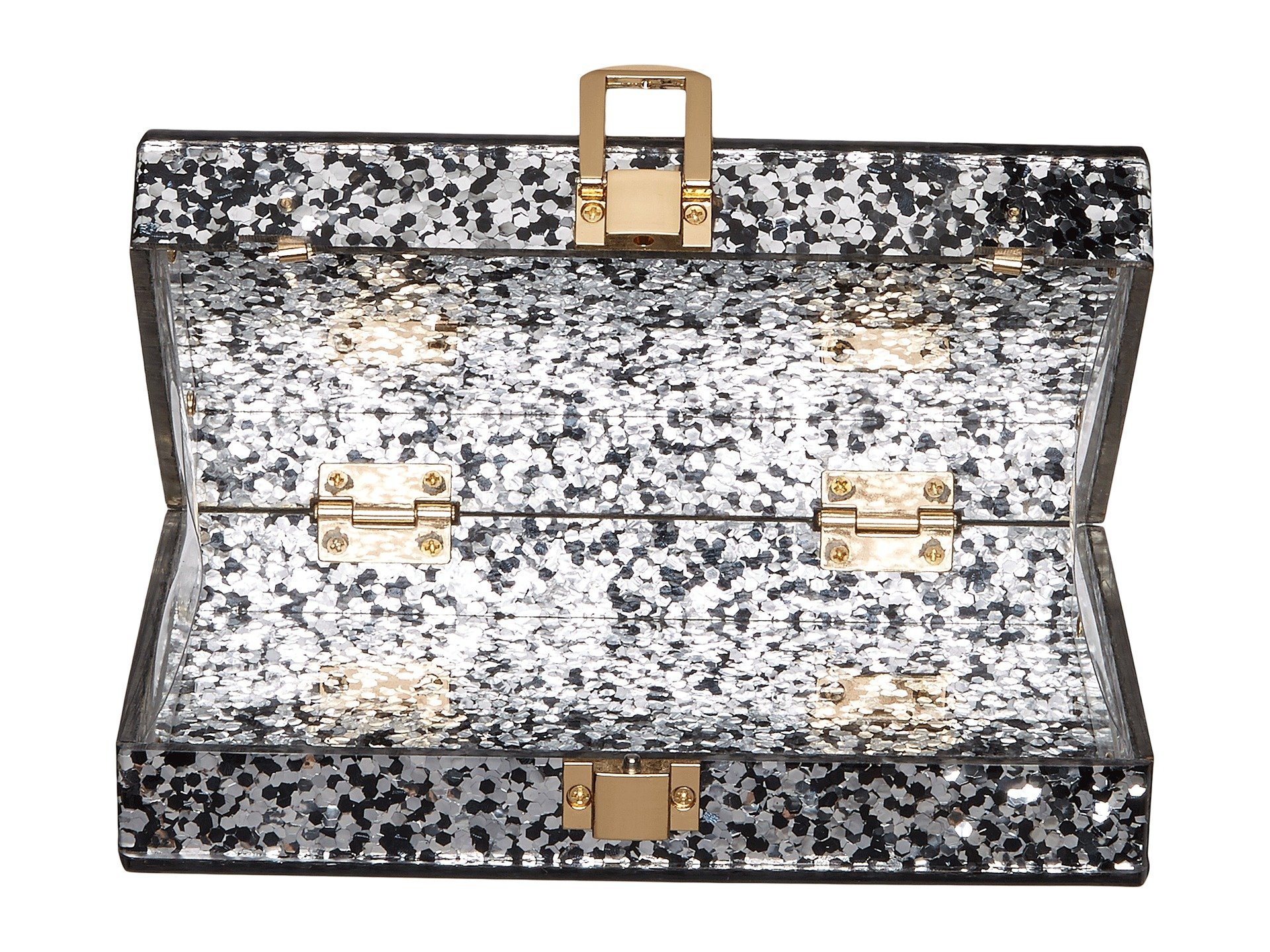 circus by sam edelman glitter acrylic frame clutch at 6pm