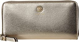 Patent Slim Zip Around Wallet