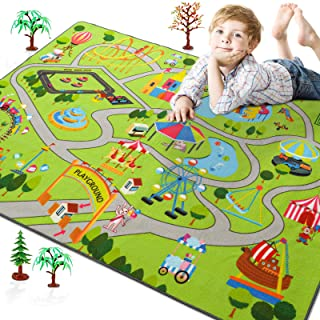 Rostyle Kids Play Rugs for Playroom, Toddler Kids Carpet...