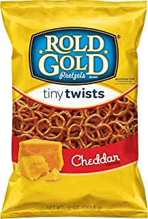Rold Gold Cheddar Flavored Tiny Twists Pretzels, 10 Ounce