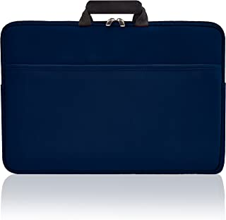 | Laptop Sleeve | 17 Inch Waterproof Laptop Bag, Protective Drop-Proof Case for Macbooks, Notebooks, or Ultrabooks, Slim with Handles & Extra Storage Pocket.