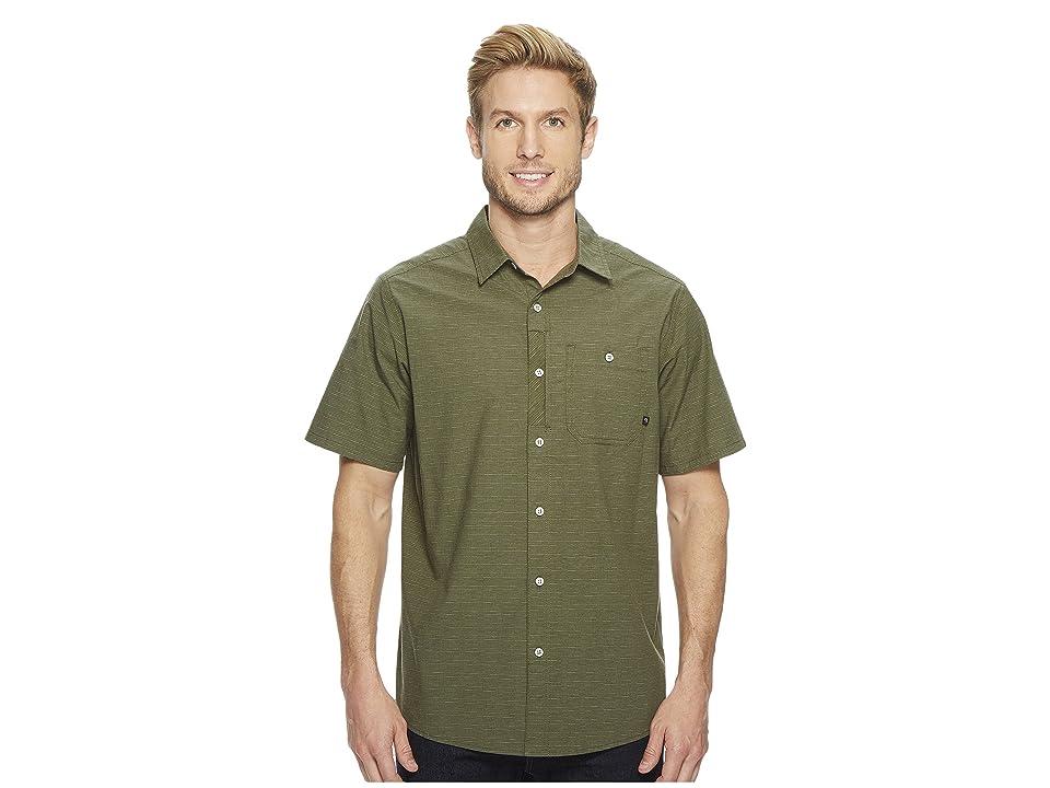 Mountain Hardwear Franztm Short Sleeve Top (Surplus Green) Men