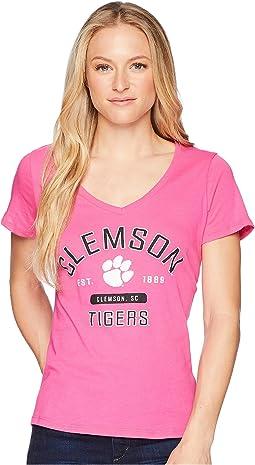 Clemson Tigers University V-Neck Tee