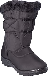 wolfsburg1 Women's Winter Boots Mid-Cap Fur Lining Cold-Weather Shoes