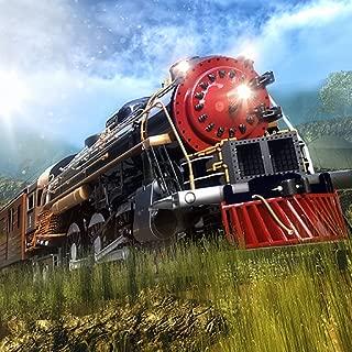USA High Speed Train Drive Simulator Game 2018: Tourist Transport Parking Adventure Fun Free For Kids