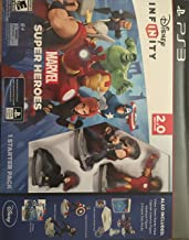Disney Infinity Marvel Super Heroes 2.0 PS3 with *Captain America & Venom Figure* Starter Pack