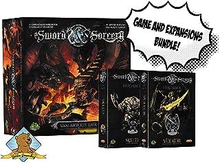 Sword and Sorcery Vastaryous Lair Skeld and Volkor Hero Pack Game Night Bundle Sold by Golden Groundhog