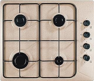 Plados star60cl de table de cuisson à gaz avoine plan cuisson