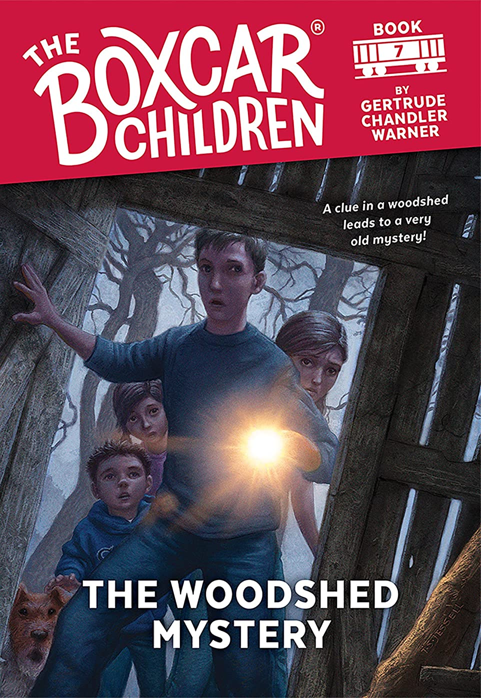 The Woodshed Mystery (The Boxcar Children Mysteries Book 7) (English Edition)