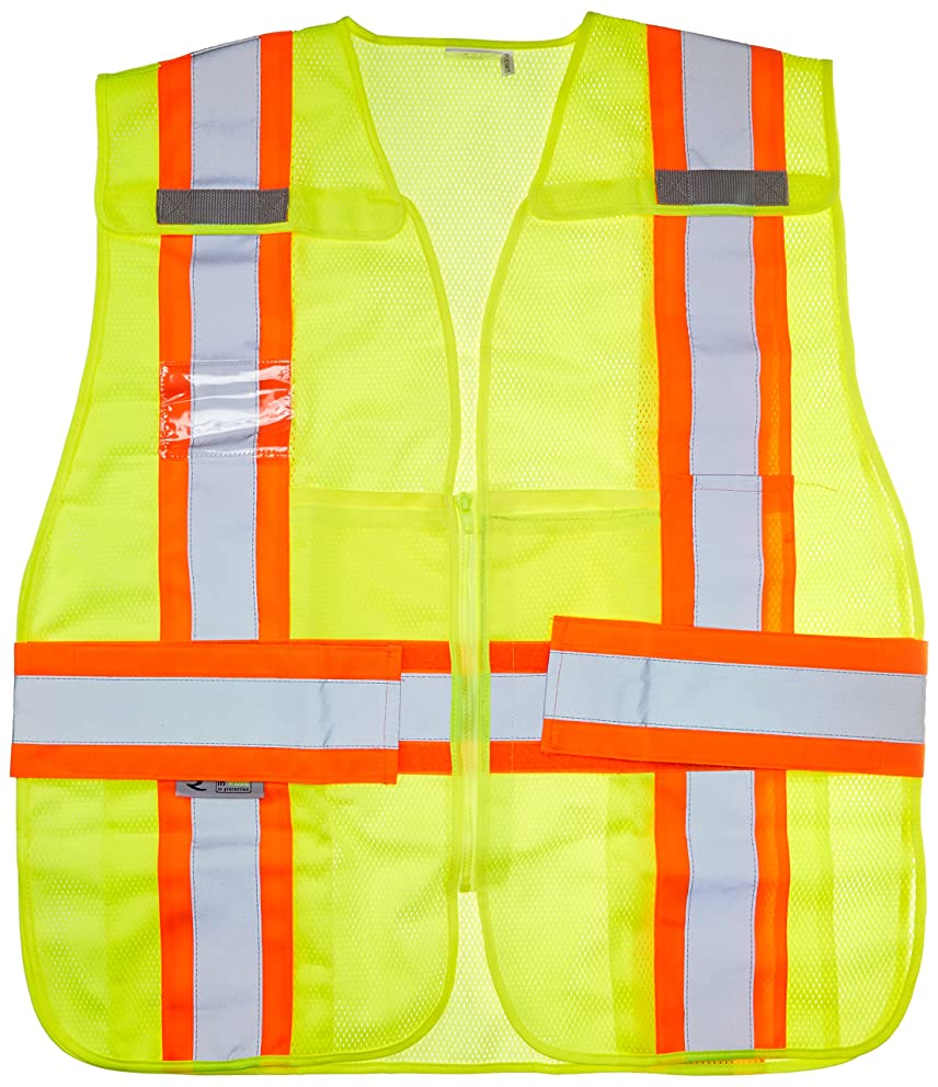 Radians SV24-2ZGM-3X/5X Polyester Mesh Class-2 Breakaway Expandable Two Tone Vest
