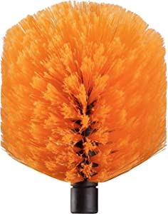 Cobweb Duster Head Brush // Spider Web Brush for Outdoor & Indoor Web Cleaning // Twist-On Corner Duster Fits Standard Acme Threaded Extension Poles // Best Cobweb Brush Head (Pole Sold Separately)