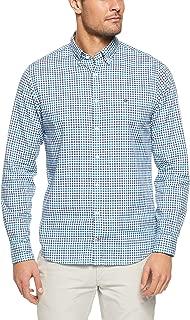 TOMMY HILFIGER Men's Multi Check Regular Fit Shirt, Vivid Blue/Multi