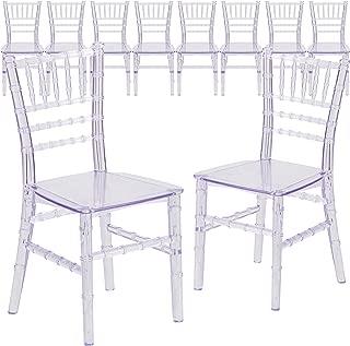 Flash Furniture 10 Pk. Kids Crystal Transparent Chiavari Chair