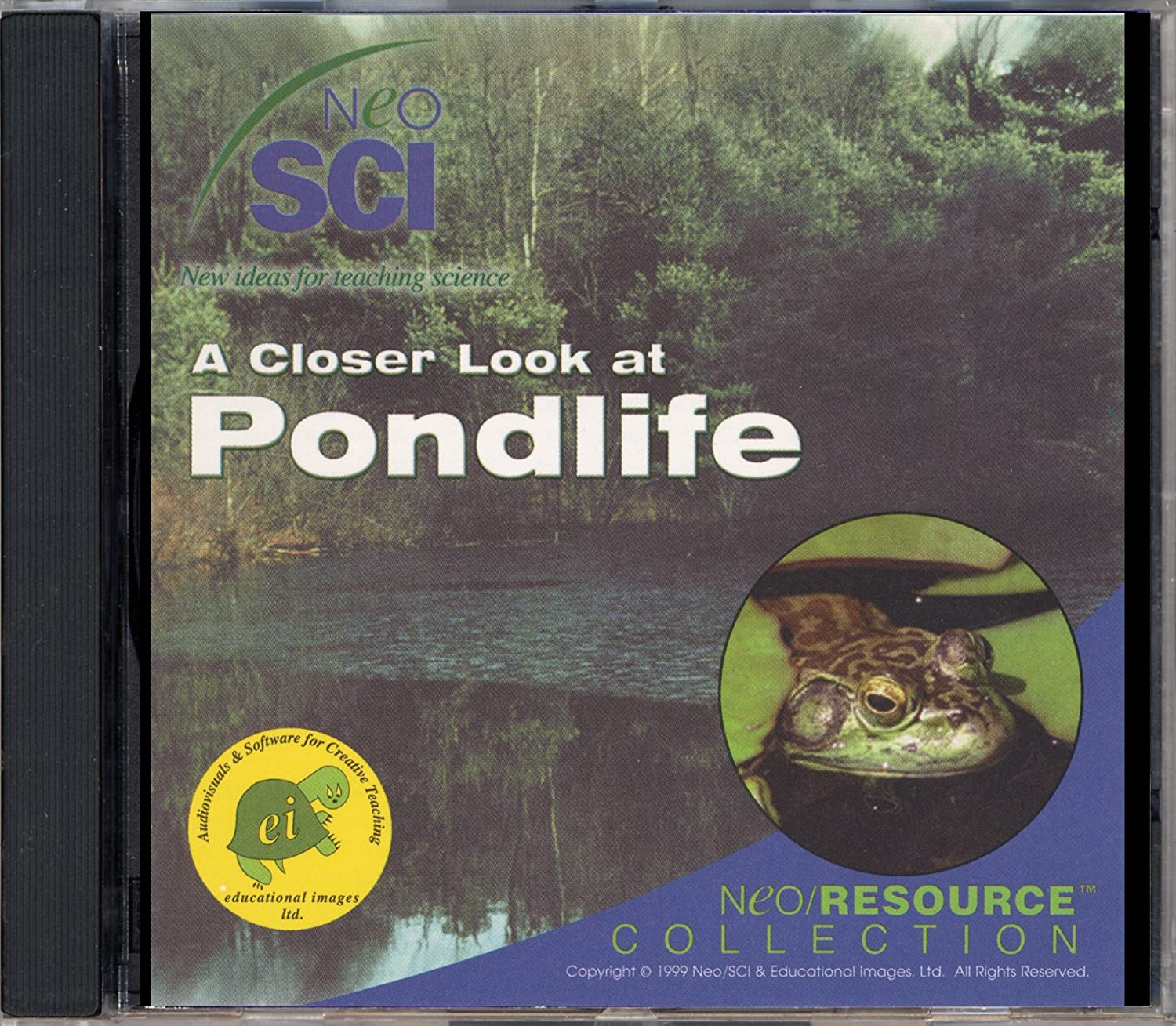 Neo SCI A Closer Look at Pondlife Neo RESOURCE CD-ROM, Individual License